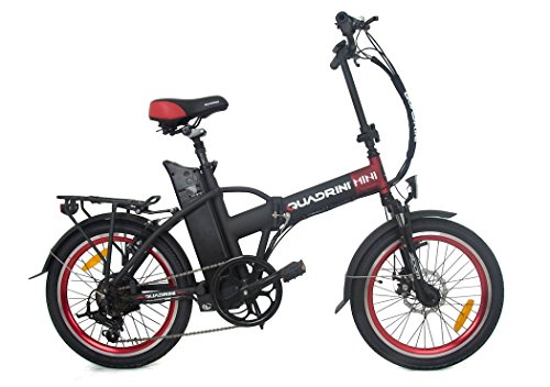 Vélo électrique QUADRINI, vélo électrique pliable, modèle MINI,...