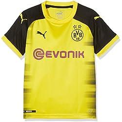Puma BVB Replica, Camiseta Internacional del Borussia Dortmund para Niño, Amarillo (Cyber Yellow-Puma Black), 152 EU (Talla del Fabricante: L)