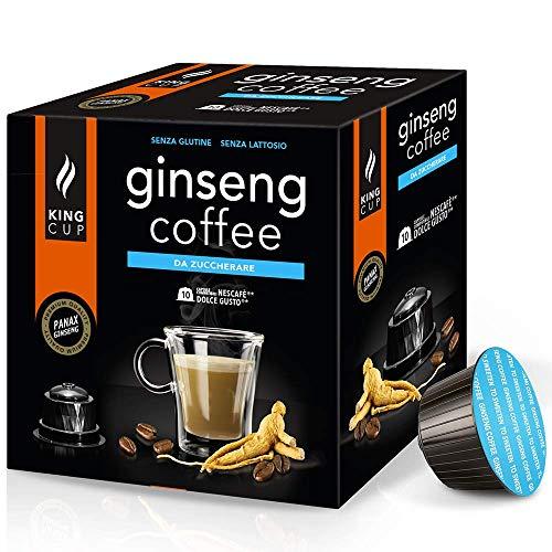 50 capsule Nescafè Dolce Gusto - Caffè al Ginseng da Zuccherare
