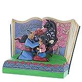 Disney Traditions 4059729 Il più Grande Onore-Mulan Storybook Figurina, Resina, Multicolore, 200x100x150 cm