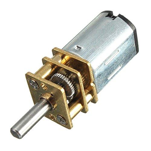 Specifiche:Alta qualità.Tensione nominale: CD 6 V/12 V.Velocità: 50/ 200/ 300 giri/ min.Diametro asta: 3 mm.Dimensioni. Diametro: 12 mm.Posizione del fuso senza lunghezza dell'asta: 26 mm.Uscita assiale, lunghezza: da 10 a 4,4 mm.Nome: Mini m...