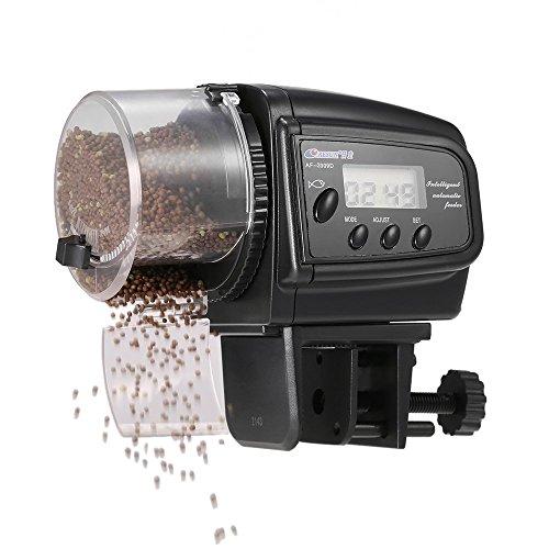 Anself Alimentador Automático Peces Comedero Peces Automatico Acuario Dispensador Comida Peces Automático para Acuario y Tanque