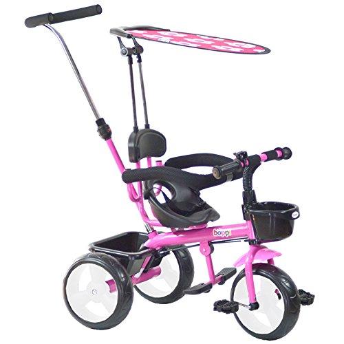 boppi Triciclo 4 in 1 – 9-36 Mesi - Rosa