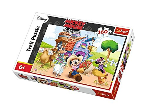 Trefl 38.956 cm Mickey The Farmer Puzzle (Pezzi)