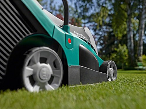 Bosch Rotak 370 LI Ergoflex Cordless Lawnmower. Overall this is a great alternative to our 'Best Pick' and is slightly better but this comes at an extra cost.