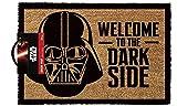 Lasgo Star Wars Zerbino Welcome To The Darkside, Materiale Sintetico, Multicolore, 60x40x2 cm