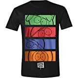 South Park - Character Strips Homme T-Shirt - Noir - Taille X-Large