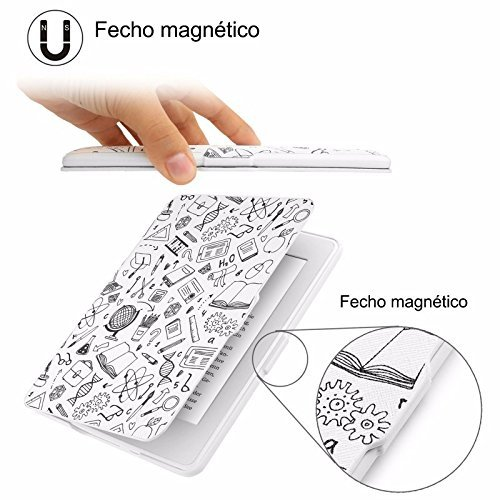 MOCA Paperwhite 1 2 3 PU Leather with Auto Wake/Sleep Flip Case Cover for Amazon Kindle 6-inch Display 5  MOCA Paperwhite 1 2 3 PU Leather with Auto Wake/Sleep Flip Case Cover for Amazon Kindle 6-inch Display 51WWjqesskL