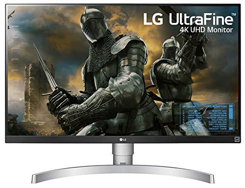 LG 27 inch 4K-UHD (3840 x 2160) HDR 10 Monitor (Gaming & Design) with IPS Panel, HDMI x 2, Display Port, AMD Freesync - 27UK650 (White)