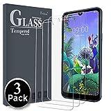 Ferilinso Cristal Templado para LG Q60 / LG K50, [3 Pack] Protector de Pantalla Screen Protector para Cristal Templado LG Q60 / LG K50