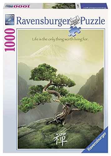 Ravensburger 19389 9 - Albero Zen, Puzzle 1000 Pezzi