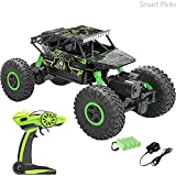Smart Picks 1:18 Rechargeable 4Wd Rally Car Rock Crawler R/C Monster Truck (Green)