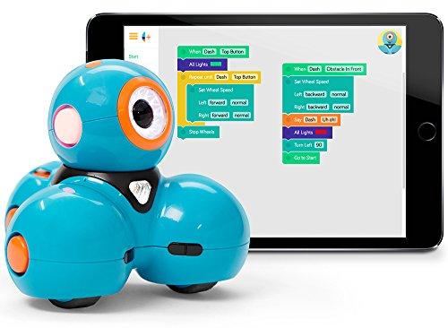 51Wk9zKxx9L - Wonder Workshop Robot Dash - Juguete para Aprender a Programar - Ahora en español - Apps Gratis