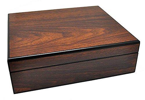 Uhrenhuette Uhrenbox aus Echtholz W-062 für 8 Uhren 704