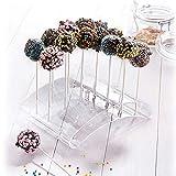 Westmark Cake Pop-Butler, Für bis zu 20 Cake Pops, 22 x 16 x 6 cm, Kunststoff, Transparent, 30252260