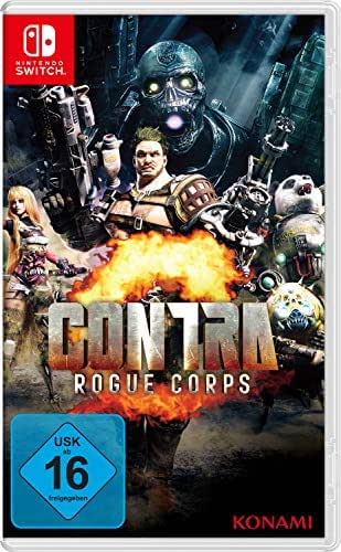 Contra: Rogue Corps [