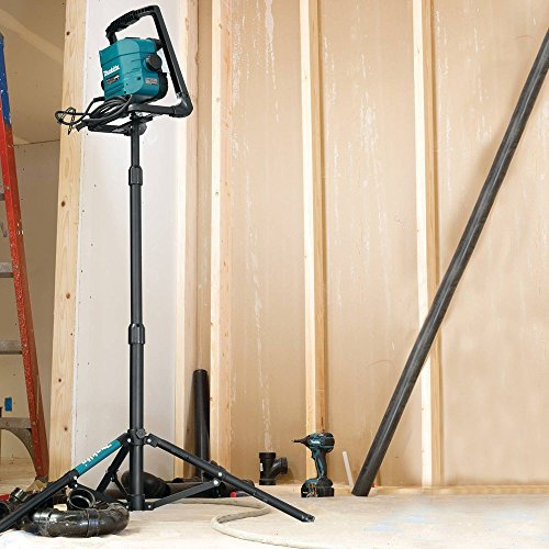 If you wish, you may buy the separately sold Makita's tripod stand to attach your work light to for improved coverage.