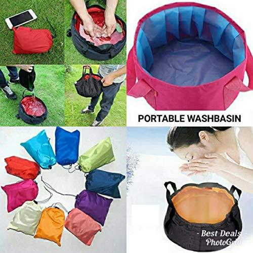 iShine Foot Spa Bath Waterproof Bag Printed/Plain (Multi-color, 1 pc)