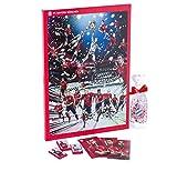 FC Bayern Adventskalender XXL incl. Autogrammkarten + Schokofußbälle im Set
