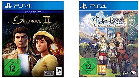 Shenmue III - Day One Edition - [PlayStation 4] & Atelier Ryza: Ever Darkness & the Secret Hideout [Playstation 4]