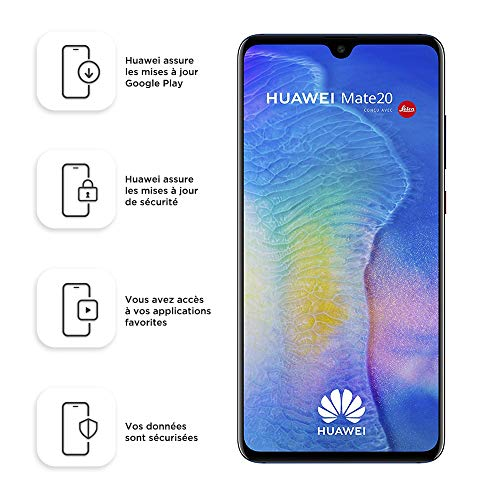 Huawei Mate20 128 GB/4 GB Dual SIM Smartphone - Midnight Blue (West European)