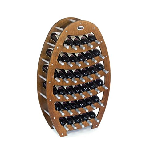 Mobili in legno CANTINETTA IN LEGNO DI NOCE - MODELLO 'BOTTE' - CAPIENZA 36 BOTTIGLIE