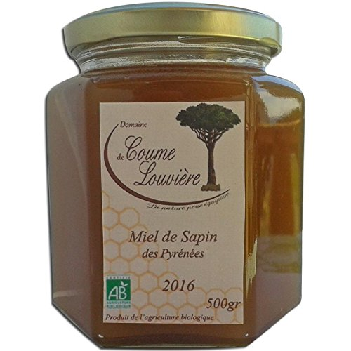 Miel de sapin Bio des Pyrénées 250 g