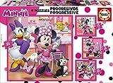 Educa Borrás Mickey and The Roadster Racers Progresivos Minnie Happy Helpers (17630) , Modelos/colores Surtidos, 1 Unidad