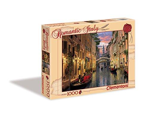 Clementoni 39218 - Puzzle Romantic Italy - Venezia, 1000 Pezzi