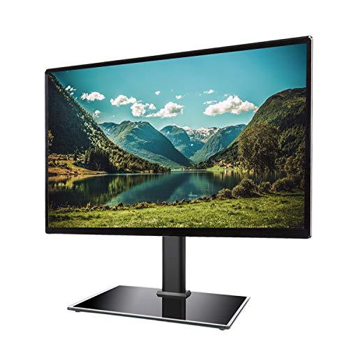Rfiver Piedistallo Basamento Supporto per TV LCD/LED TV dal 27 a 55 pollici Altezza Regolabile Nero...