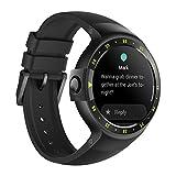 Ticwatch S Knight Smartwatch Bluetooth Montre Connectée avec écran OLED 1,4 Pouces, Android Wear 2.0, Sportswatch Compatible avec Android et iOS, Langue française Disponible Disponible
