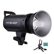 Godox sk400ii profesional 400Ws Studio Flash Strobe Flash Light 2.4G Wireless X Sistema GN655600K con 150W Modelado lámpara con Desktop Mini trípode