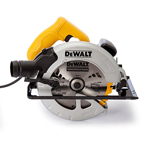 The DeWalt 65mm Compact Circular Saw comes with a very powerful high performance 1350w motor. The motor is powerful enough to cut through different basic materials with ease.