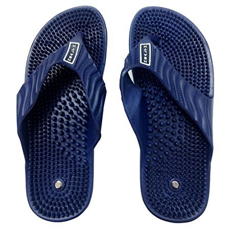 Aci Acupressure Health Care India Acupuncture Foot Healthy Massage Slipper For Unisex - Blue