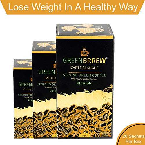 Greenbrrew Carte Blanche Green Coffee Extract (Pack of 3) - 60g Each 4