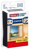 Tesa 55915-00021-00 Zanzariera per Finestra, qualità Comfort, Antracite