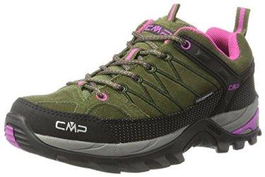 CMP-Damen-Rigel-Low-WP-Trekking-Wanderhalbschuhe-Grn-Olive-Hot-Pink-36-EU