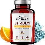 Multivitamines et Minéraux 27 Nutriments • Vitamines A, B, C, D3 (1000...