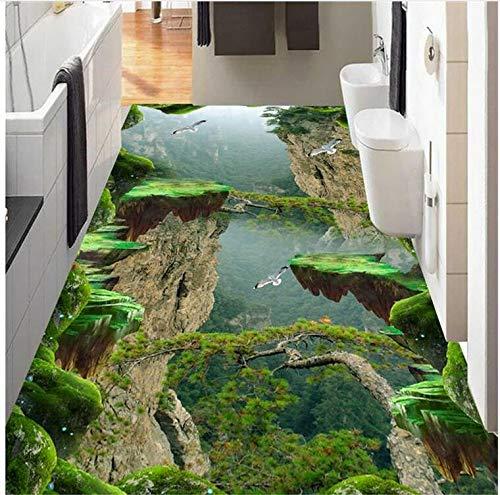 Pavimento In Vinile Decorativo 3D Stereoscopico Su Misura Pavimento In Pvc Impermeabile, Pavimento...