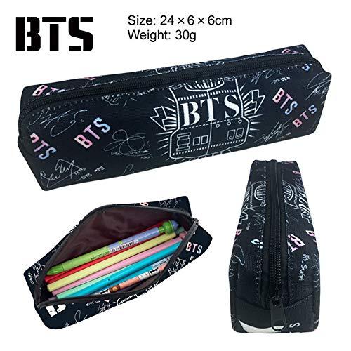 Skisneostype KPOP BTS Bangtan Boys matita di stampa 3D matita di studenti Stationery Bags titolari...