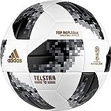 Adidas Telstar 18 Top Replique Ball, Blanc/Noir/argenté métallisé 5