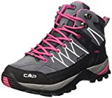 CMP - Rigel, Scarpe sportive - camminata donna, color Grigio (Grey-Fuxia-Ice 103Q), talla 40