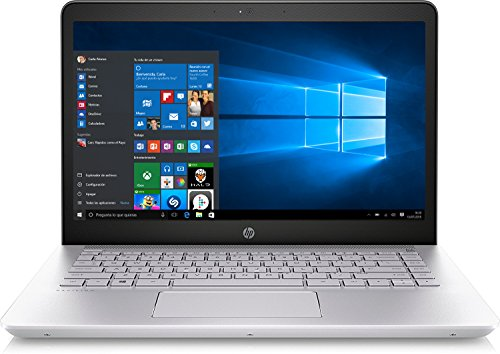 "HP Pavilion 14-bk001ns - Ordenador portátil 14"" FHD (Intel Core i5-7200U, 8 GB RAM, 256 GB SSD, Intel® HD Graphics 620,Windows 10 Home 64) color plata"