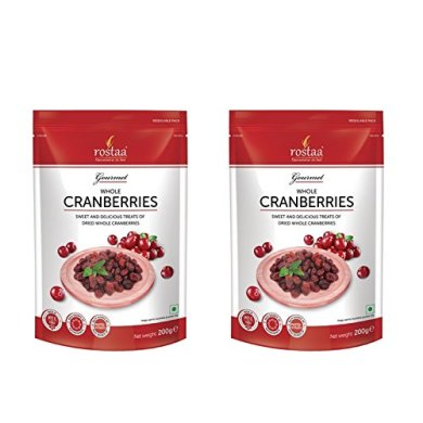 Rostaa Cranberry Whole 200gm (Pack of 2) 24