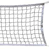 Pallavolo Netto, 9.5M * 1M Con la Corda Cavo D'acciaio Formato Pieghevole Ufficiale Standard Indoor Outdoor Sports