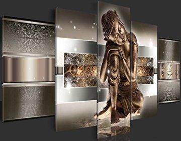 murando - Cuadro de Cristal acrílico 200x100 cm - Cuadro de acrílico - Impresion en Calidad fotografica - Buda h-C-0034-k-m 7