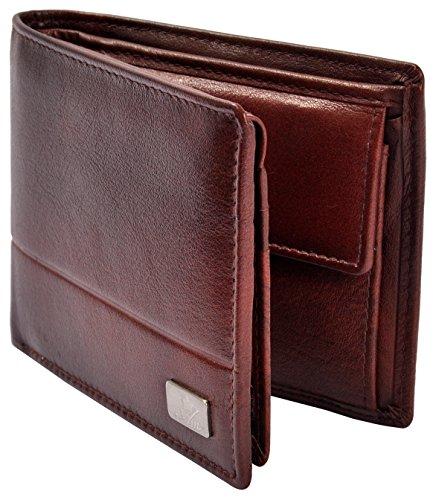 AM LEATHER Brown Men's Wallet