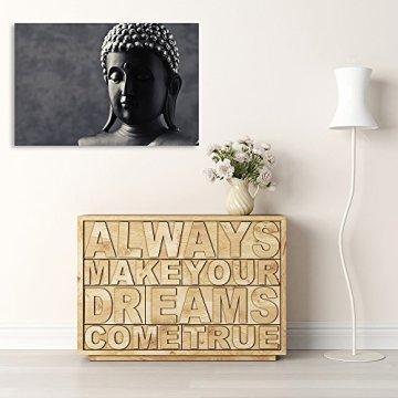 Feeby Frames, Cuadro en lienzo, Cuadro impresión, Cuadro decoración, Canvas, BUDA, GRIS 6