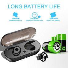 Auriculares-Bluetooth-50-Auriculares-Inalmbricos-Mini-Twins-Estreo-In-Ear-Bluetooth-con-Caja-de-Carga-Porttil-Auriculares-Inalambricos-Bluetooth-con-micrfono-Incorporado-para-iOS-Android
