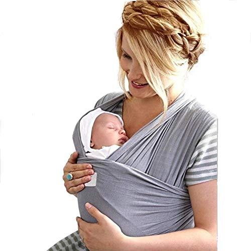 Fascia Porta Bebè Marsupio Elastico Porta Neonato Ergonomico Elegante 2a Generazione Imbracatura...